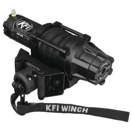 KFI AS-50 Assault Series 5000 Lb Winch - Allterraindepot