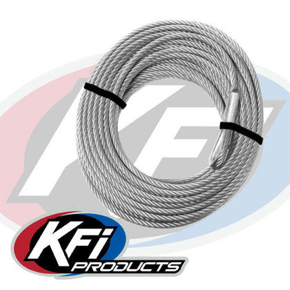KFI Products 2500-3500 lb. Replacement Winch Cable - Allterraindepot