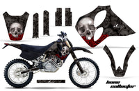 Dirt Bike Graphics Kit Decal Sticker Wrap For KTM SX/XC/EXC/LC4 1993-1997 BONES BLACK
