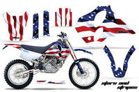 Dirt Bike Graphics Kit Decal Sticker Wrap For KTM SX/XC/EXC/LC4 1993-1997 USA FLAG