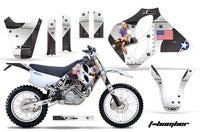 Dirt Bike Graphics Kit Decal Sticker Wrap For KTM SX/XC/EXC/LC4 1993-1997 TBOMBER WHITE