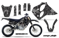 Graphics Kit Decal Sticker Wrap + # Plates For KTM SX/XC/EXC/LC4 1993-1997 CAMOPLATE BLACK