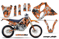 Graphics Kit Decal Sticker Wrap + # Plates For KTM SX/XC/EXC/LC4 1993-1997 CAMOPLATE ORANGE