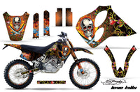 Graphics Kit Decal Sticker Wrap + # Plates For KTM SX/XC/EXC/LC4 1993-1997 EDHP ORANGE