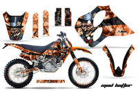Graphics Kit Decal Sticker Wrap + # Plates For KTM SX/XC/EXC/LC4 1993-1997 HATTER BLACK ORANGE