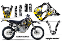 Graphics Kit Decal Sticker Wrap + # Plates For KTM SX/XC/EXC/LC4 1993-1997 MOTORHEAD BLACK