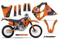 Graphics Kit Decal Sticker Wrap + # Plates For KTM SX/XC/EXC/LC4 1993-1997 TBOMBER ORANGE