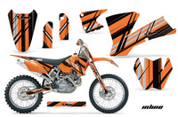 Dirt Bike Graphics Kit Decal Wrap For KTM  SX SXS EXC MXC 2001-2004 INLINE ORANGE