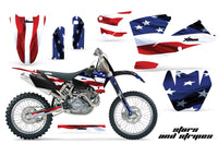 Dirt Bike Graphics Kit Decal Wrap For KTM  SX SXS EXC MXC 2001-2004 USA FLAG