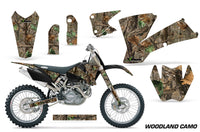 Dirt Bike Graphics Kit Decal Wrap For KTM  SX SXS EXC MXC 2001-2004 WOODLAND CAMO