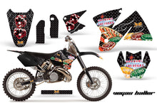 Load image into Gallery viewer, Dirt Bike Decal Graphic Kit Sticker Wrap For KTM SX/XC/EXC/MXC 1998-2001 VEGAS BLACK-atv motorcycle utv parts accessories gear helmets jackets gloves pantsAll Terrain Depot