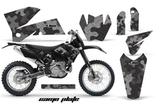 Load image into Gallery viewer, Dirt Bike Decal Graphic Kit Wrap For KTM EXC/SX/MXC/SMR/XCF-W 2005-2007 CAMOPLATE BLACK-atv motorcycle utv parts accessories gear helmets jackets gloves pantsAll Terrain Depot