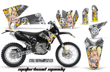 Load image into Gallery viewer, Dirt Bike Decal Graphic Kit Wrap For KTM EXC/SX/MXC/SMR/XCF-W 2005-2007 MOTO MANDY SILVER-atv motorcycle utv parts accessories gear helmets jackets gloves pantsAll Terrain Depot
