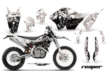 Load image into Gallery viewer, Dirt Bike Graphics Kit Decal Wrap For KTM SX/XCR-W/EXC/XC/XC-W/XCF-W 2007-2011 REAPER WHITE-atv motorcycle utv parts accessories gear helmets jackets gloves pantsAll Terrain Depot