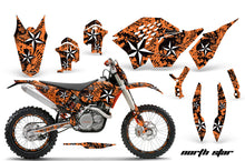 Load image into Gallery viewer, Graphics Kit Decal Wrap + # Plates For KTM SX/XCR-W/EXC/XC/XC-W/XCF-W 2007-2011 NORTHSTAR ORANGE-atv motorcycle utv parts accessories gear helmets jackets gloves pantsAll Terrain Depot