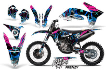 Load image into Gallery viewer, Dirt Bike Decal Graphics Kit Wrap For KTM SX/SX-F/XC/EXC/XFC-W 2011-2013 FRENZY BLUE-atv motorcycle utv parts accessories gear helmets jackets gloves pantsAll Terrain Depot