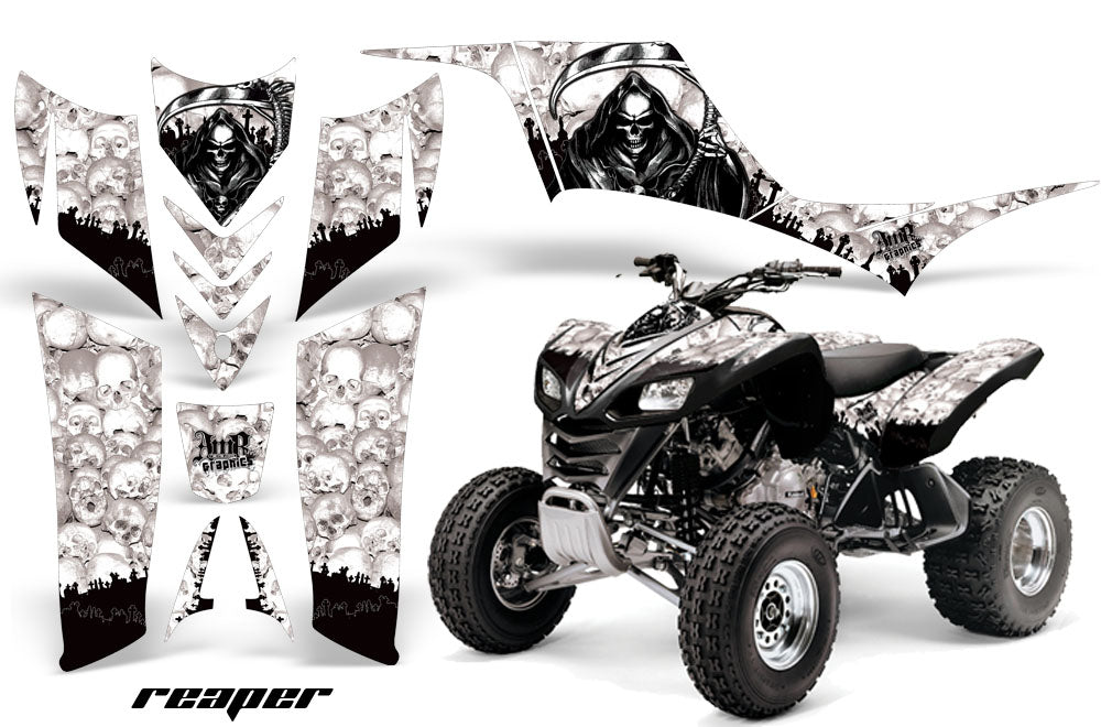 KAWASAKI KFX 700 GRAPHICS KIT DECALS