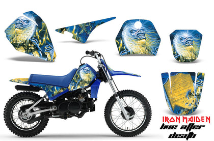 Dirt Bike Decal Graphic Kit Sticker Wrap For Yamaha PW80 PW 80 1996-2006 IM LAD