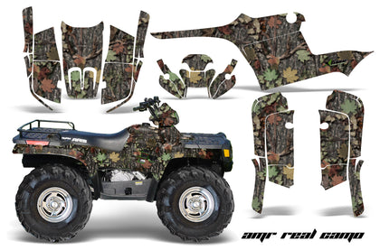 ATV Graphics Kit Decal Wrap For Polaris Sportsman 400 500 1995-2004 REAL CAMO