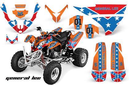 ATV Graphics Kit Quad Decal Wrap For Polaris Predator 500 2003-2007 GENERAL LEE-atv motorcycle utv parts accessories gear helmets jackets gloves pantsAll Terrain Depot