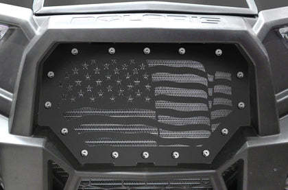 1 Piece Steel Grille for Polaris RZR 1000 2015-2017 - AMERICA