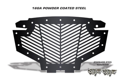 1 Piece Steel Grille for Polaris RZR 900-800 - V STRIPE