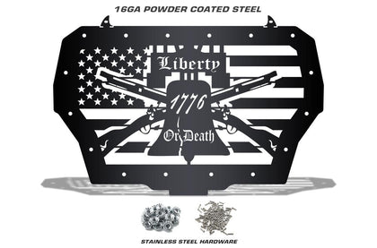 1 Piece Steel Grille for Polaris RZR 2017 Turbo - LIBERTY