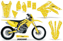 Load image into Gallery viewer, Dirt Bike Graphic Kit Decal Sticker Wrap For Suzuki RMX450Z 2009-2017 DIGICAMO YELLOW-atv motorcycle utv parts accessories gear helmets jackets gloves pantsAll Terrain Depot