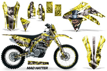 Load image into Gallery viewer, Graphics Kit Decal Sticker Wrap + # Plates For Suzuki RMX450Z 2009-2017 HATTER SILVER YELLOW-atv motorcycle utv parts accessories gear helmets jackets gloves pantsAll Terrain Depot