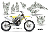Dirt Bike Graphics Kit Decal Sticker Wrap For Suzuki RMZ250 2004-2006 BALLIN