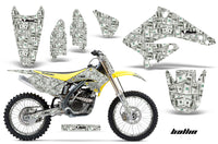 Graphics Kit Decal Sticker Wrap + # Plates For Suzuki RMZ250 2004-2006 BALLIN
