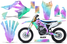 Load image into Gallery viewer, Dirt Bike Graphics Kit Decal Sticker Wrap For Suzuki RMZ450 2018+ SLICK-atv motorcycle utv parts accessories gear helmets jackets gloves pantsAll Terrain Depot