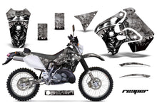 Load image into Gallery viewer, Dirt Bike Graphics Kit Decal Sticker Wrap For Suzuki RMX250S 1996-1998 REAPER SILVER-atv motorcycle utv parts accessories gear helmets jackets gloves pantsAll Terrain Depot