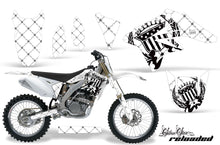 Load image into Gallery viewer, Dirt Bike Graphics Kit Decal Sticker Wrap For Suzuki RMZ250 2007-2009 RELOADED WHITE BLACK-atv motorcycle utv parts accessories gear helmets jackets gloves pantsAll Terrain Depot