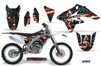 Dirt Bike Graphics Kit Decal Sticker Wrap For Suzuki RMZ250 2007-2009 WW2 BOMBER