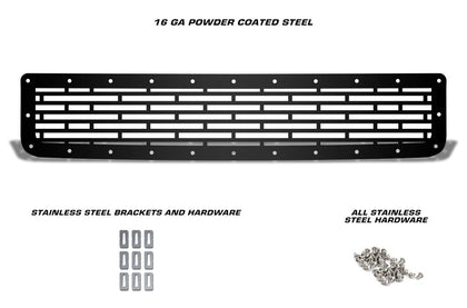 1 Piece Steel Grille for Toyota FJ Cruiser 2007-2014 - BRICKS