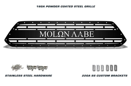 1 Piece Steel Grille for Toyota Tacoma 2012-2015 - MOLON LABE