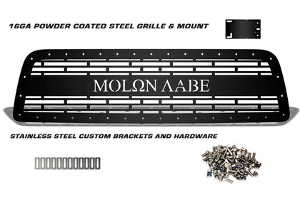 1 Piece Steel Grille for Toyota Tundra 2007-2009 - MOLON LABE