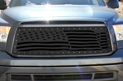 1 Piece Steel Grille for Toyota Tundra 2010-2013 - AMERICA