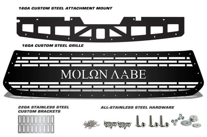 1 Piece Steel Grille for Toyota Tundra 2014-2017 - MOLON LABE