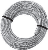 "KFI Winch Cable 15/64"" (D) x 52' (L) - (WIDE)"
