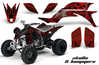 ATV Graphics Kit Quad Decal Sticker Wrap For Yamaha YFZ450 2004-2013 HISH RED