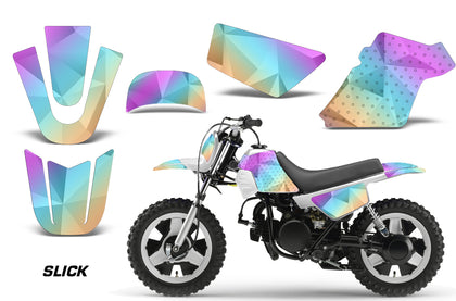Dirt Bike Graphics Kit MX Decal Wrap For Yamaha PW50 PW 50 1990-2019 SLICK
