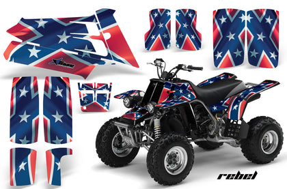 ATV Graphics Kit Quad Decal Sticker Wrap For Yamaha Banshee 350 1987-2005 REBEL