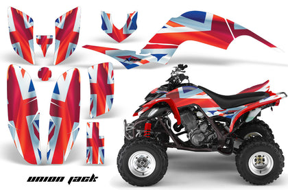 ATV Decal Graphics Kit Quad Sticker Wrap For Yamaha Raptor 660 2001-2005 UNION JACK