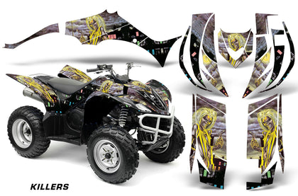 ATV Decal Graphic Kit Quad Sticker Wrap For Yamaha Wolverine 450 2006-2012 IM KILLERS