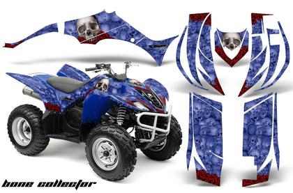 ATV Decal Graphic Kit Quad Sticker Wrap For Yamaha Wolverine 450 2006-2012 BONES BLUE