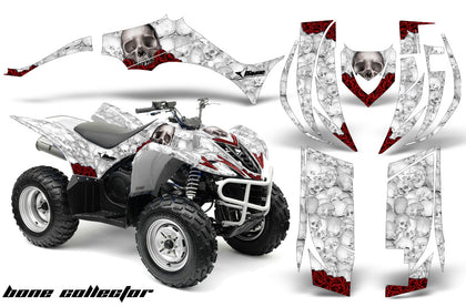 ATV Decal Graphic Kit Quad Sticker Wrap For Yamaha Wolverine 450 2006-2012 BONES WHITE