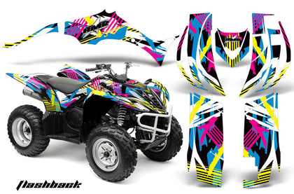 ATV Decal Graphic Kit Quad Sticker Wrap For Yamaha Wolverine 450 2006-2012 FLASHBACK