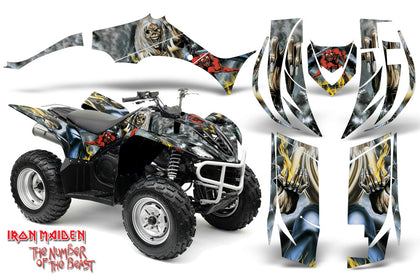 ATV Decal Graphic Kit Quad Sticker Wrap For Yamaha Wolverine 450 2006-2012 IM NOTB